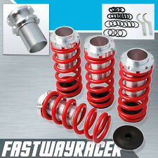 JDM EF EG EK DA DC2 D15 D16 B16 Red Lowering Spring Coilover Sleeve Suspension