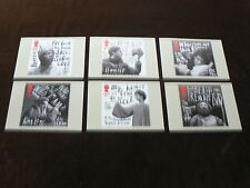 Royal Shakespeare Company, 6 x PHQ Stamp Cards, 2011, FDI Special H/S Back