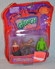 Dr. Seuss How The Grinch Stole Christmas Grinch & Martha May Whovier Figures