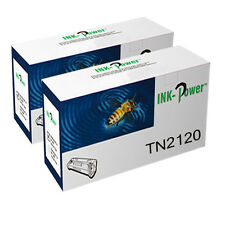 2 TN2120 TONER CARTRIDGE FOR BROTHER DCP-7045N DCP-7030