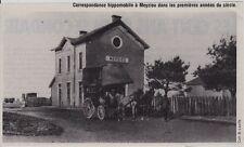 1981  --  CORRESPONDANCE HIPPOMOBILE EN GARE DE MEYZIEU   3F401