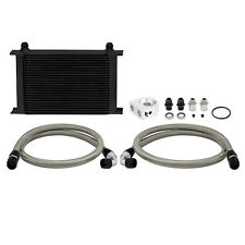 Mishimoto Universal 25 Row Oil Cooler Kit - Black
