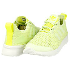 Adidas ZX FLUX ADV VERVE S32056 Trainers Sneakers Halo/Solar Yellow UK6.5 US8