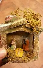 Nativita tutto in terracotta pastori 4 cm PRESEPE shereped S.GREGORIO A. crib