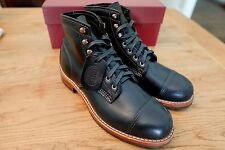 Wolverine 1000 Mile Adrian Men's Black Cap Toe Boots - Made in USA - Size 7.5