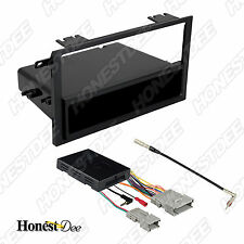 CHEVROLET CAR STEREO SINGLE/DOUBLE/2/D-DIN RADIO INSTALL DASH KIT CMBO 99-2011