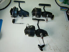 3 X original Michell 410 fishing reels spares repair made in France all work ok