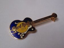 Broche Hard Rock Cafe Singapore - guitare bleue