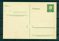 Allemagne - Germany 1959/60 - Michel n. P. 37 - Entier postal neuf