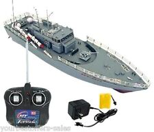 RC Boat Radio Remote Control Battleship Model Kit Warship Cruiser Boat Brand New