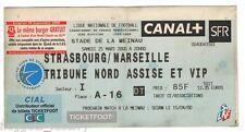 Billet  / Place  OM Olympique de Marseille - Strasbourg vs OM  ( 005 )