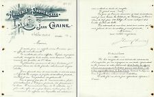 Dépt 13 - Salon de Provence - Belle Huilerie Provencale Jean Chaine - 31/10/1896