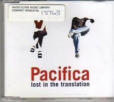 (BM283) Pacifica, Lost In The Translation - 1999 DJ CD