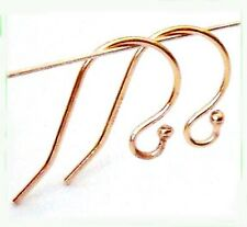 20pc 14k Yellow Gold Filled ball french fish hook earring earwire Findings GE01