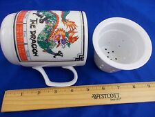 Dragon Tea Infuser Strainer Cup mug coffee years elements 4 1/2""
