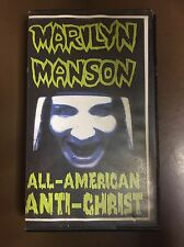 Marilyn Manson All American Anti-Christ VHS 1995 RARE OOP Nine Inch Nails