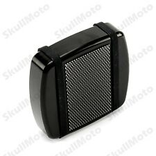 CNC Diamond Black Small Brake Pedal Pad Cover For Harley Dyna Softail XG FXSB