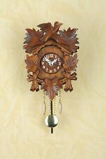 Kuckulino Orologio A Pendolo con Cuculo chiamata Quadrante in legno