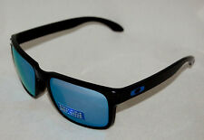 *NEW* OAKLEY HOLBROOK OO9102-C1 POLISHED BLACK W/ PRIZM DEEP H2O POLARIZED LENS