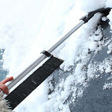 Ice Snow Scraper Auto Car Truck Window Retractable Shovel Removal Brush Squeegee