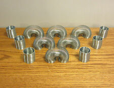 "18 NEW SILVER METAL COIL SPRINGS CLASSIC KIDS TOY PARTY FAVOR 2"" COIL SPRING"