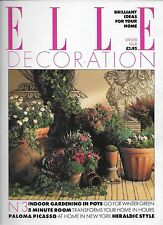 ELLE Decoration Winter Issue 1989 (3rd issue)