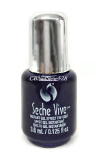 MINI SIZE -Seche VIVE Instant Gel Effect Top Coat 0.125oz/3.6ml -NO UV/LED lamp