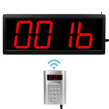 Wireless Call Number System Restaurant Paging Queuing System Transmitter &Host