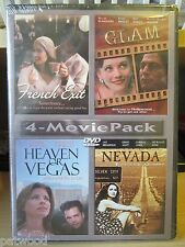 4-Movie Pack: French Exit / Glam / Heaven or Vegas / Nevada (DVD, 2008), NEW