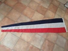 1989 VINTAGE Stitched Panel Signal Flag+Crows Foot SGN. PENN. FORMATION Size 6