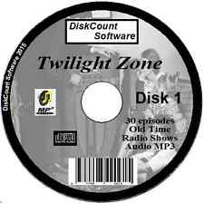 The Twilight Zone - 30 Old Time Radio Shows Audio MP3 CD (1)
