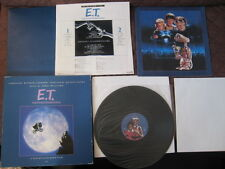 E.T. The Extra Terrestrial Japan Vinyl LP Box Poster Narrated by Michael Jackson