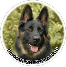 2 German Shepherd Dog No. 2. design Car Stickers By Starprint
