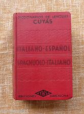 Diccionario de lengua Cuyás/ Italiano-Español y vice./ 1954/ Ediciones Hymsa/BCN