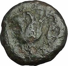 RHODES Island Off CARIA 394BC Nymph Rhodos ROSE Ancient Greek Coin i50215