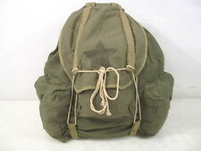 WWII Era US Army 10th Mountain Division Rucksack Pack Khaki & OD w/Tubular Frame