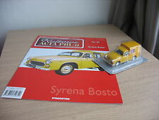 Syrena Bosto scale 1/43 + MAGAZINE issue Nr.30 Kultowe AUTA PRL-u