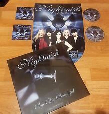NIGHTWISH LP Bye.Picture Disc 2008 + Promo Set Dark Passion.2007-WHITHIN-MAIDEN