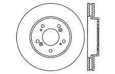 Disc Brake Rotor-High Performance Drilled And Slotted fits 05-07 Honda Odyssey