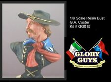 1/8 Scale Resin Bust Kit General G.A. Custer 1864