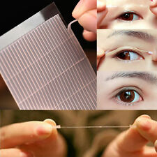 100x White Thin Invisible Double-sided Eyelid Clear Sticker Adhesive Tape Makeup