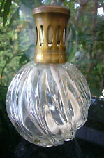 "ANTIQUE LAMPE BERGER CRYSTAL  PARIS MADE IN FRANCE  ""BN TORSADE ""  1980"