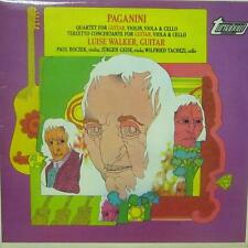 Paganini(Vinyl LP)Quartet For Guitar, Violin,Violia & Cello-Turnabout-TV 34322S-