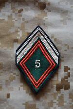 L032 Losange de bras insigne militaire écusson armée grade galon militaria