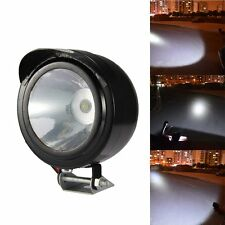 New Universal Electric Motorcycle Lamp LED Fog Spot White Light Headlight 12V 3W