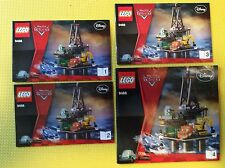 New Lego Instruction Manual ONLY Cars 2 Oil Rig Escape 9486