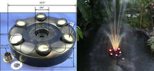 360 RGB LED Color Changing Fountain Ring Great For Pools & Ponds