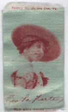 c1910 Old Mill Tobacco Cigarette Silk S72 Rose La Harte Actress