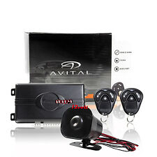 Avital 3100L 3-Channel Car Alarm with 2 Remotes and Keyless Entry with HORN