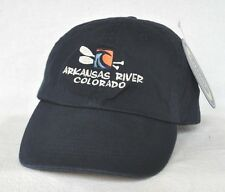 *ARKANSAS RIVER COLORADO* Whitewater Rafting Kayaking ball cap hat *OURAY*